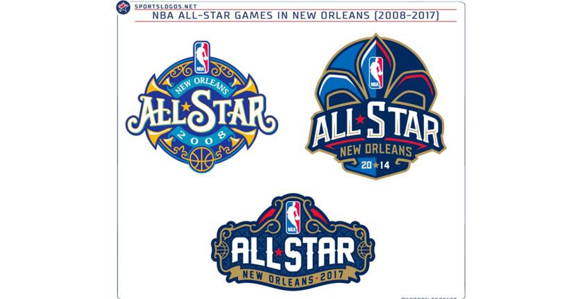 2017年nba新奥尔良全明星logo公布