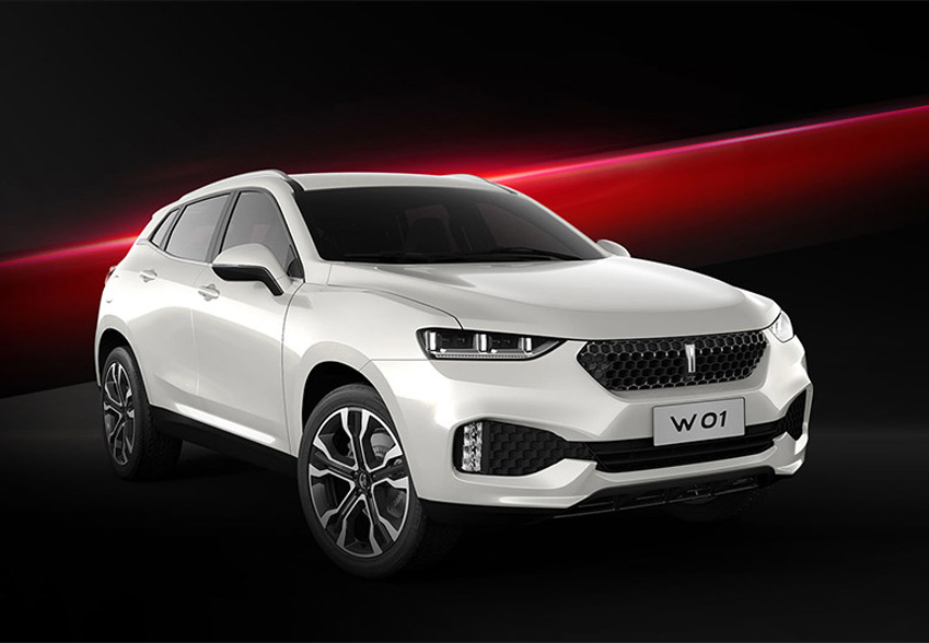 长城汽车高端品牌WEY 魏派 发布 新LOGO灵感来自 成都品牌设计公司高清图片